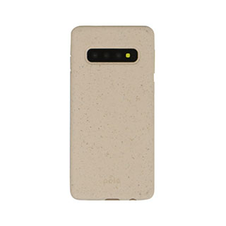 Samsung Galaxy S10+ Pela Pink (Sea Shell) Compostable Eco-Friendly Protective Case