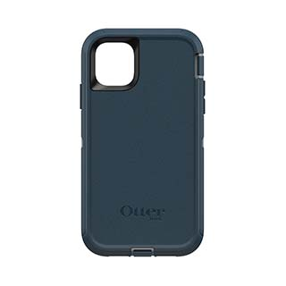 iPhone 11 Otterbox Blue + Grey (Gone Fishin') Defender Series Case