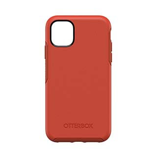 iPhone 11 Otterbox Orange + Red (Risk Tiger) Symmetry Series Case