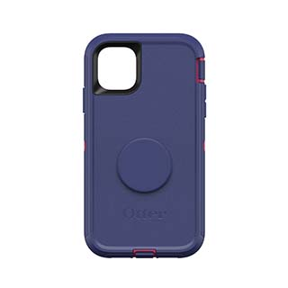 iPhone 11 Otterbox + POP Purple (Grape Jelly) Defender Series Case