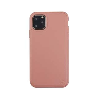 iPhone 11 Pro Uunique Pink (Pink Grapefruit) Nutrisiti Eco Leather Back Case