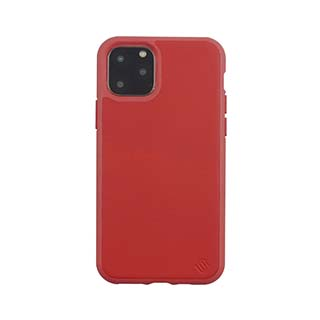 iPhone 11 Pro Uunique Red (Cherry) Nutrisiti Eco Leather Back Case