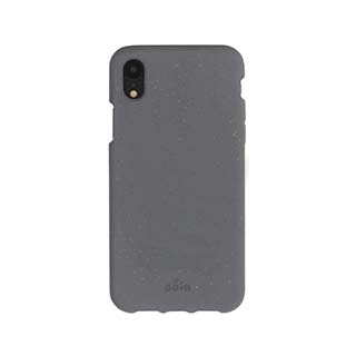 iPhone XR Pela Grey (Shark Skin) Compostable Eco-Friendly Protective Case