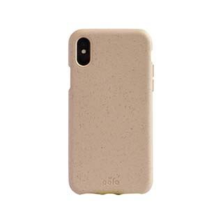 iPhone XR Pela Pink Sea Shell Compostable Eco-Friendly Protective Case