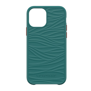 iPhone 12 + 12 Pro LifeProof Green Red (Down Under) Wake Recycled Plastic Case