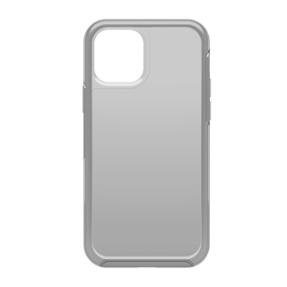 iPhone 12 + 12 Pro Otterbox Clear Silver (Moon Walker) Symmetry Clear Series Case