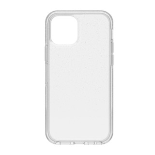 iPhone 12 + 12 Pro Otterbox Clear Silver (Stardust 2.0) Symmetry Clear Series Case