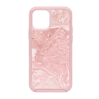 iPhone 12 + 12 Pro Otterbox Pink (Shell Shocked) Symmetry Clear Series Case
